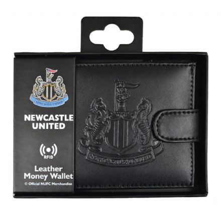 Newcastle United RFID Embossed Leather Wallet